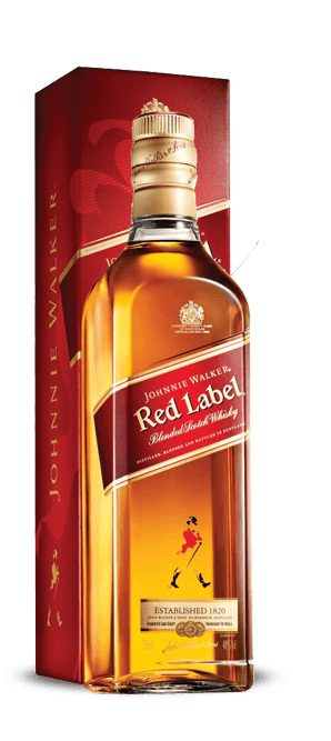 whisky red label 750ml - Johnnie Walker Red Label